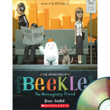 The Adventures of Beekle: The Unimaginary Friend Book Plus CD