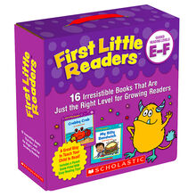 First Little Readers Parent Pack: Levels E & F