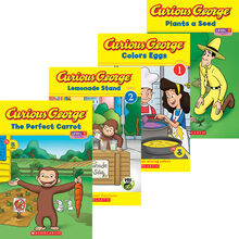 Curious George® Reader 4-Pack