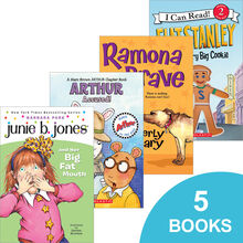 Favorite Characters 5-Pack: Grades 2–3