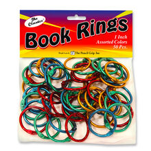 Book Rings (Assorted Colors)