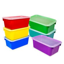 Cubby Bins with Covers