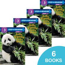 Baby Panda Goes Wild! 6-Book Pack