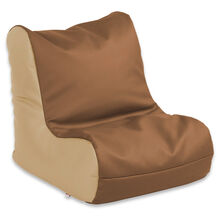 Youth Bean Bag Seat: Chocolate/Sand