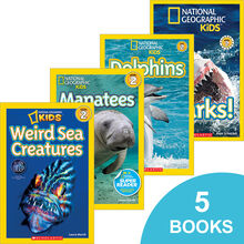National Geographic Kids™ Ocean Explorers Pack (5 Books)