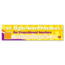 50 Sight Words Phrases for Transitional Readers