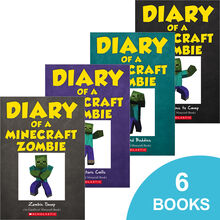 Diary of a Minecraft Zombie #1–#6 Pack