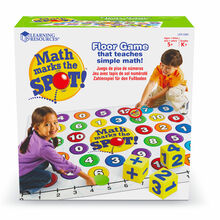 Math Marks the Spot Floor Game