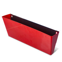 Magnetic Wall Pocket: Red