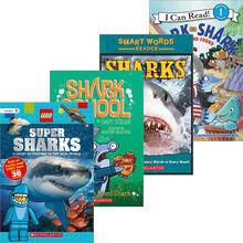 Shark Stories 4-Pack: Grades 2–3
