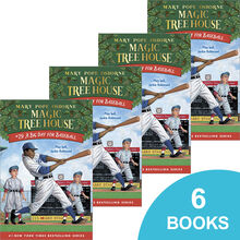 Magic Tree House® #29: A Big Day for Baseball 6-Book Pack