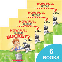 How Full Is Your Bucket? For Kids 6-Book Pack