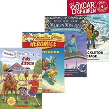 Mystery and Adventure 4-Pack: Grades 2–3