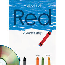 Red: A Crayon's Story Book Plus CD