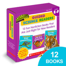 Guided Science Readers™ Box Set: Levels E–F