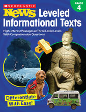 Scholastic News Leveled Informational Texts: Gr. 4