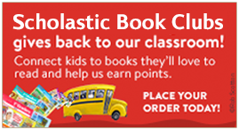 Place your order for Scholastic Book Clubs